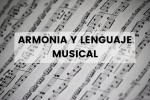 Armonía y lenguaje musical